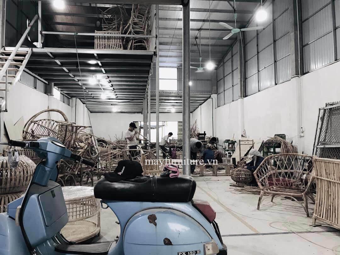 Xưởng sản xuất MAY furniture